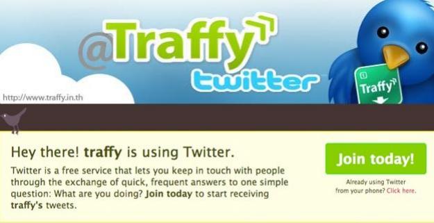 Traffy twitter