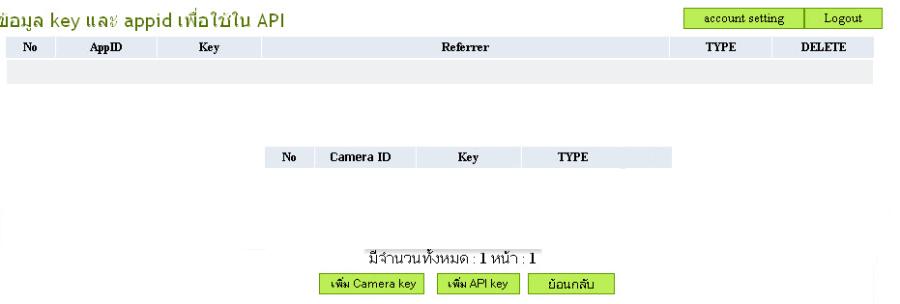 add camera key